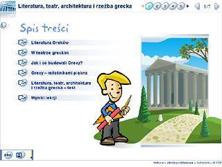 Literatura, teatr, architektura i rzeźba grecka