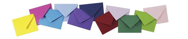 Sobres de colores - Pepa Paper