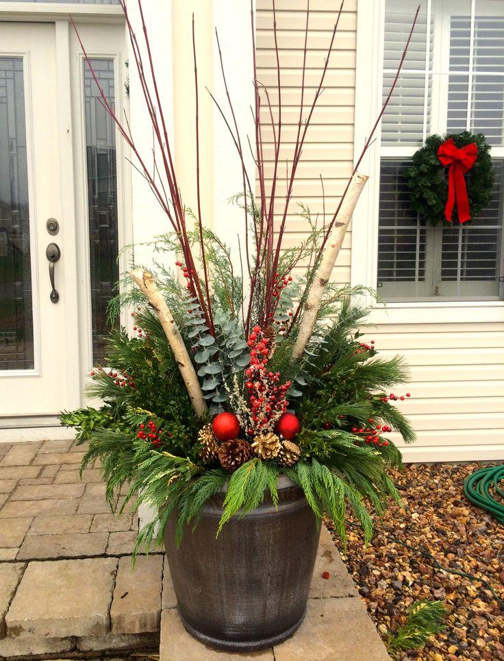 Holiday Planters Christmas Amp Winter Pots