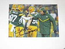 Green Bay Packers DOM CAPERS Signed 4x6 Photo NFL AUTOGRAPH 1D