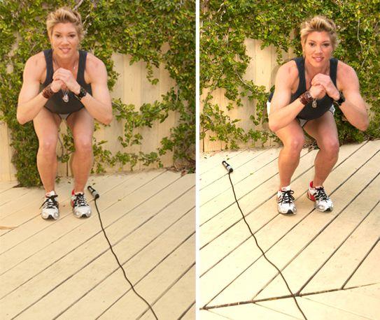 Jackie Warner's 5 Favorite Jump Rope Moves