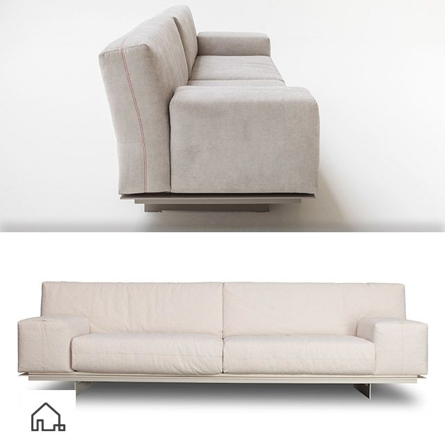 Minimalista e elegante, o Sofá Biron combina em qualquer ambiente ou decoração. www.estudiobola.com