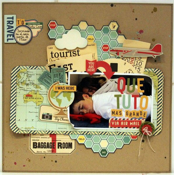 Travel Page Layers ~ Map