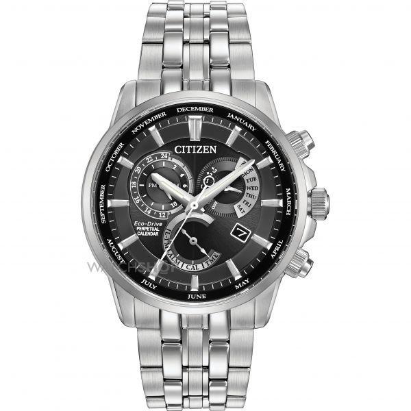 Mens Citizen Calibre 8700 Alarm Eco-Drive Watch BL8140-55E