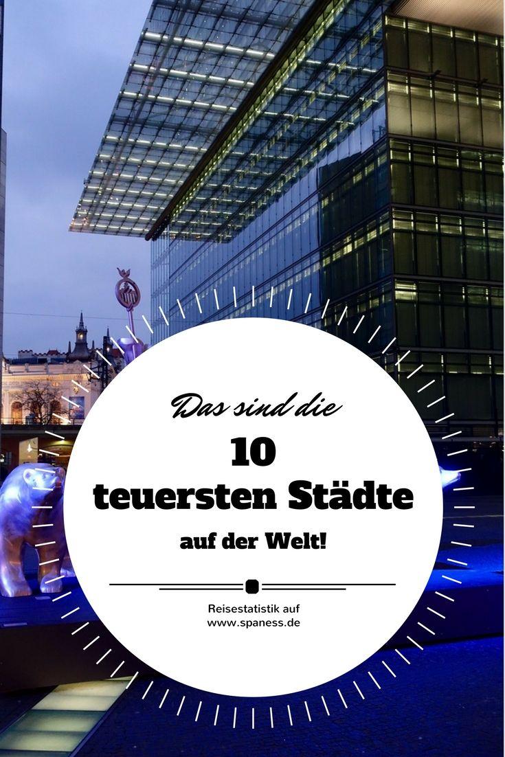 Reisetrend - das sind die 10 teuersten Städte für Hotelübernachtungen in Deutschland.