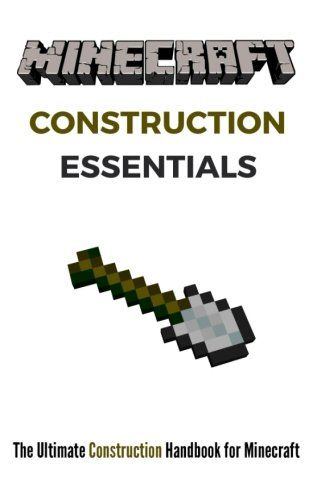 Minecraft Construction Essentials: The Ultimate Construction Handbook for Minecraft @ niftywarehouse.com #NiftyWarehouse #Minecraft #Geek #Gaming #VideoGames