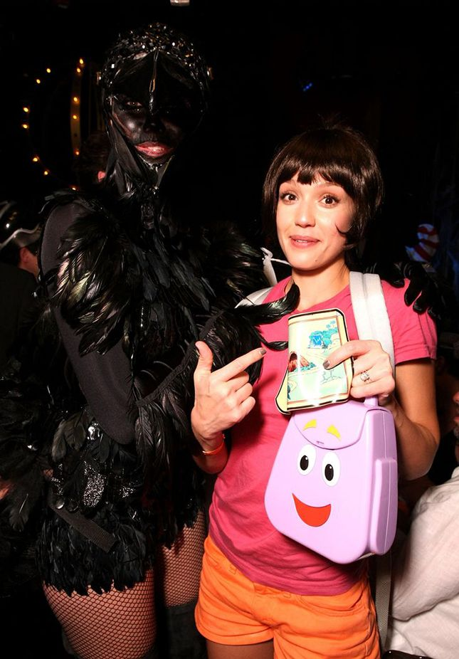 70 of the Best Celebrity Halloween Costumes of All Time via Brit + Co.