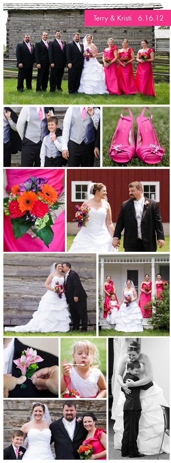 One of our own gets married!  Real Wedding Highlight: Kristi, Bargain Finder