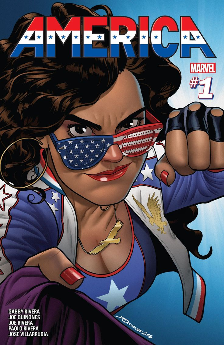 America is quite simply one of the best new comics that Marvel have put out in a while.  America, America #1, America Chavez, Gabby Rivera, Joe Quinones, Joe Rivera, Jose Villarrubia, Marvel, Marvel Comics, Milo Milton-Jefferies, Paolo Rivera, review