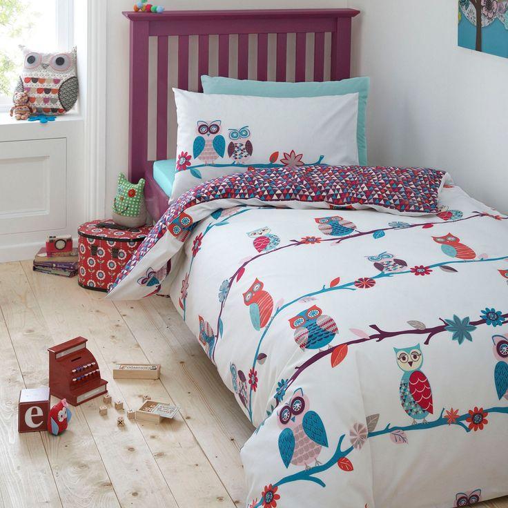 The 28 best images about rowan on pinterest ben de lisi home designer kids turquoise owls bedding set at debenhams gumiabroncs Images