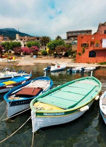 The port of Erbalunga, Northern Corsica