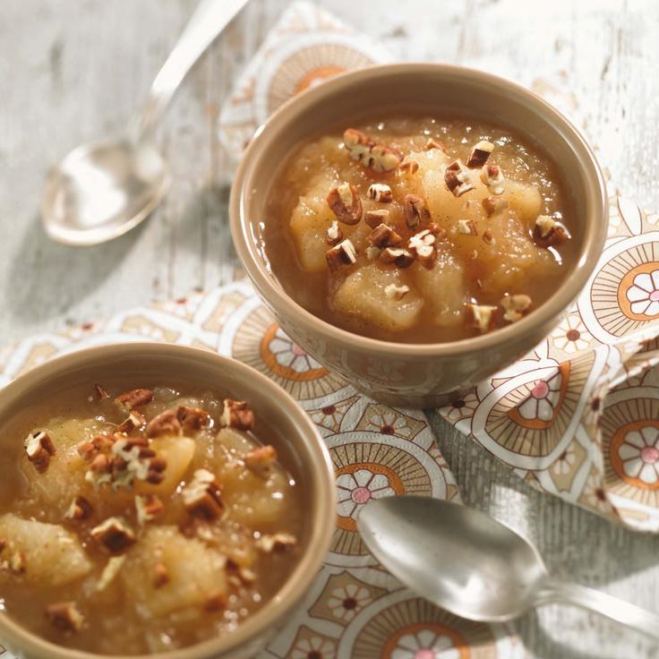 Compote de pommes et poires - Recette du livre Zéro diète