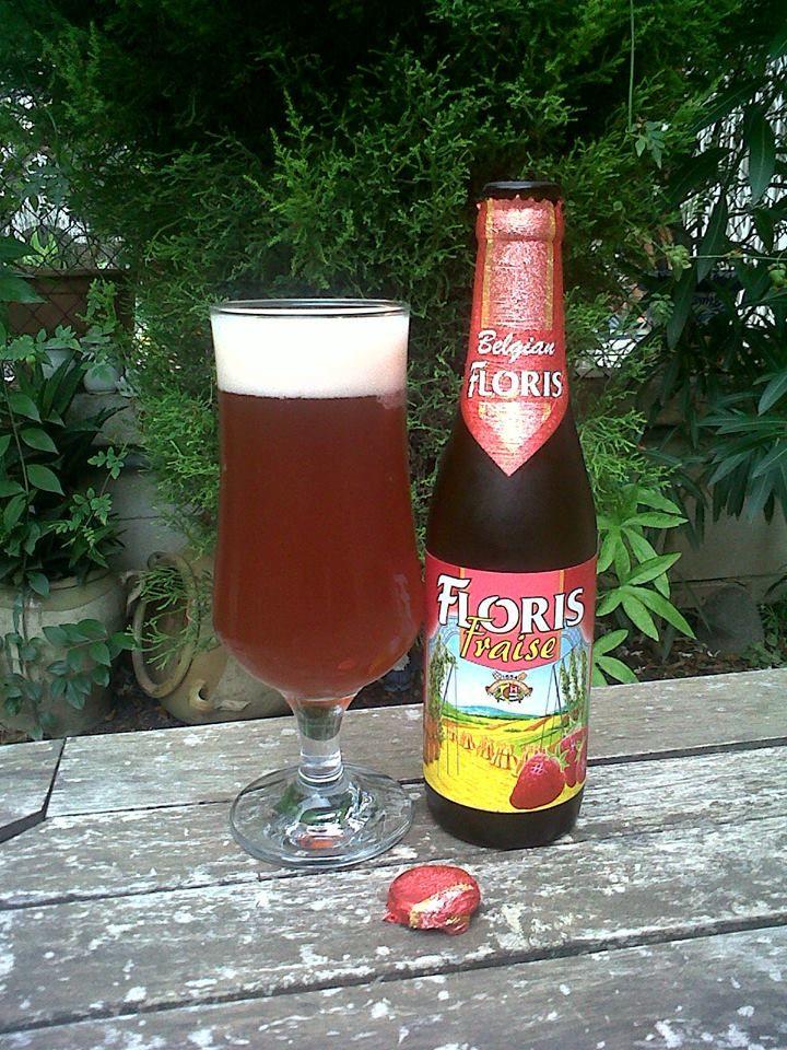 Marca: Floris.  Clase: Fraise.  Fabricante: Brouwerij Huyghe.  Cerveza de frutas.  Estilo: Fruit Beer.  Procedencia: Bélgica.  Fermentación: Alta.  Grados: 3,6%.