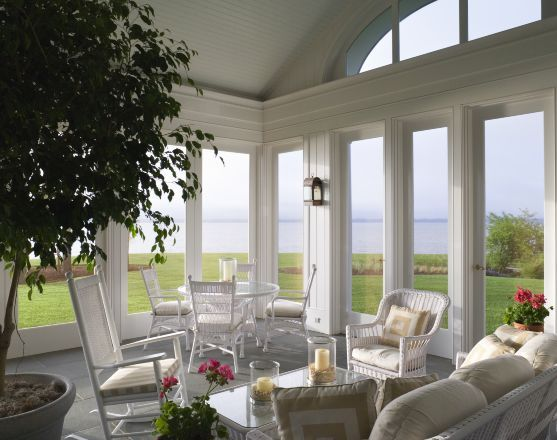 Robert A.M. Stern Architects - House in Tidewater Virginia: White Houses, Architects, Lakes Beaches, Porches Waterfront, Beach Houses, Interiors Design, Beaches Houses, Gardens Parties, Houses Shabby