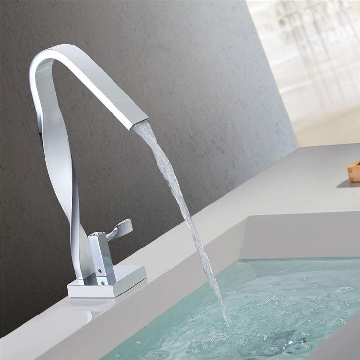 Modern DVGW Wasserhahn Badarmatur Waschtisch Mischbatterie Wasserkran Waschtisch