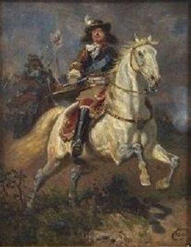 Wilhelm Camphausen - Friedrich Wilhelm I von Brandenburg, der Große Kurfürst, zu Pferd 1834