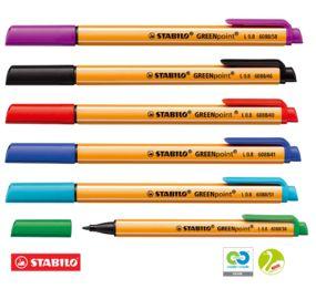 """Stylo-feutre Stabilo """"GREENpoint"""", vert"""