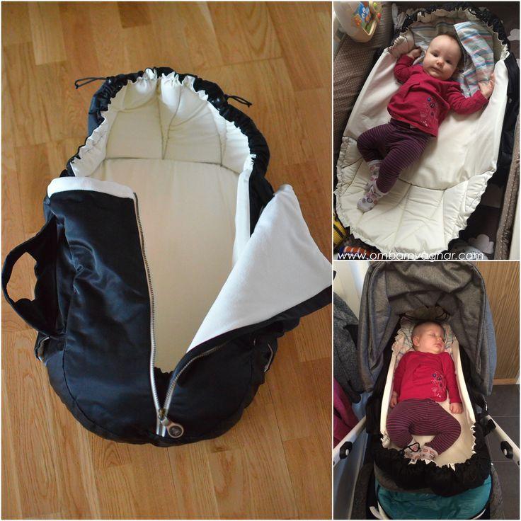Najell - SleepCarrier Swedish Baby Carry Cot - Babynest -Harness + Windcover