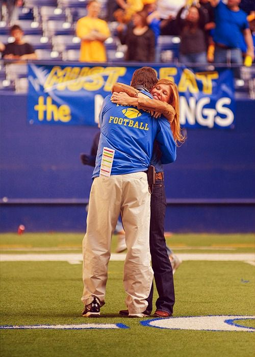 Friday Night Lights! The epitome of a perfect couple right here