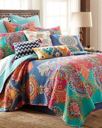 Fantasia Stein Mart Paisley Luxury Reversible Quilt