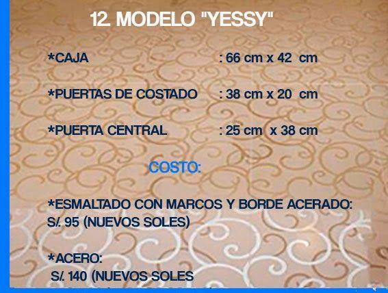 "GABINETE PARA BAÑO 12. MODELO ""YESSY"""