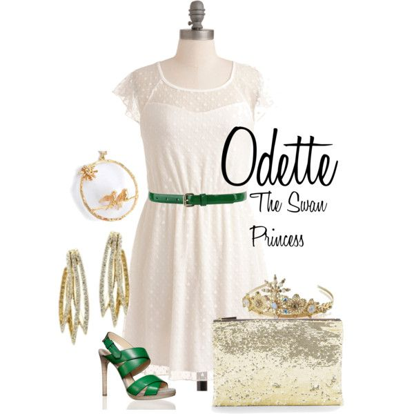 """Odette, from """"The Swan Princess"""""""