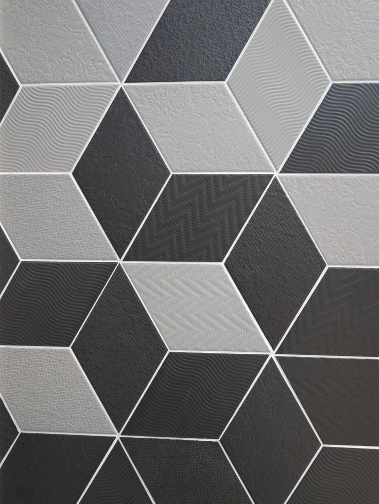 Rhombus Grey, Black nais.es