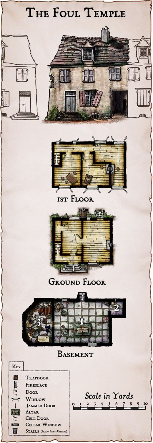 Asian rpg floor plans