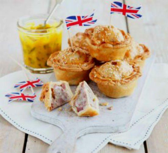 Английские мини-пироги со свининой и пикулями | Портал SityStyle
