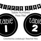 These 4.5 circles feature numbers to label your classroom tables and/or supply baskets.   Signs include numbers 1 to 12.  I hope they can be of us...
