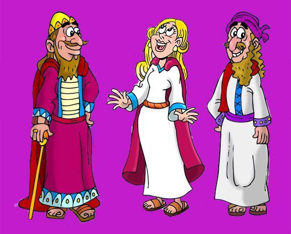 Resultado De Imagen Para Dibujos De La Historia De La Reina Ester