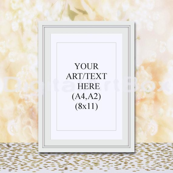 A4DIY Poster Frame 8x11A2Picture FrameDisplay Box by DigitalArtBox