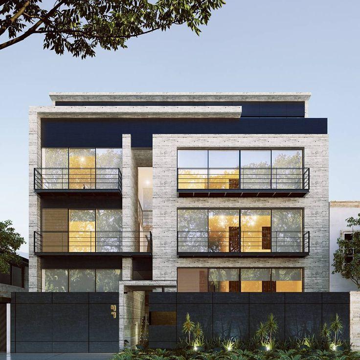 """49 Me gusta, 1 comentarios - Agencia Inmobiliaria Digital (@nolab.mx) en Instagram: """"Con un #diseño impecable y un uso artesanal del concreto aparente, estos departamentos te ofrecen…"""""""