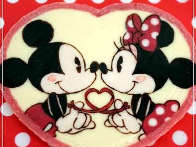 お誕生日に*キャラチョコ*キャラケーキの画像
