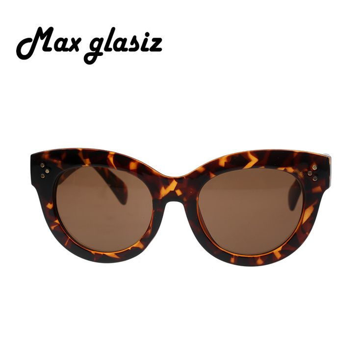 Female Audrey Fashion Retro Glasses Rivets Vintage Women Sunglasses Cateye Designer Eyeglasses Girl Oculos feminino Who like it ? #shop #beauty #Woman's fashion #Products #Classes