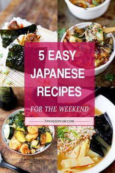 Share Always wanted to try your hand at making Japanese food but feeling intimidated by it? It's true that some Japanese dishes take a lot of time and ingredients to make but the truth is most of them don't. I grew up watching my mother create simple Japanese meals with only the basic ingredients found in traditional Japanese pantries. I'm...Read More »
