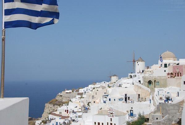 Oia Santorin Greece Griechenland Kykladen