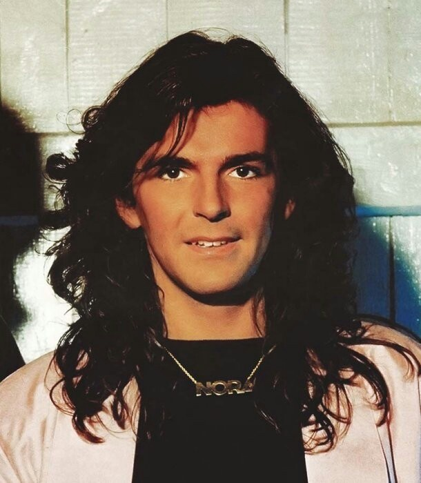 Thomas Anders from Modern Talking...love his hair!!!!!