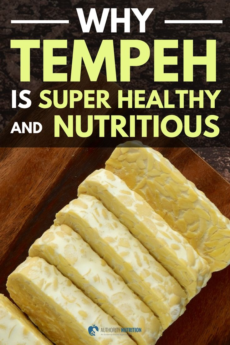 Tempeh is a fermented soybean product with a variety of health benefits. This article explains why tempeh can be a nutritious addition to your diet.
