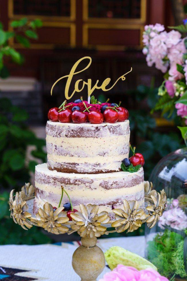 Hochzeitstorten-Trend: Naked Cakes