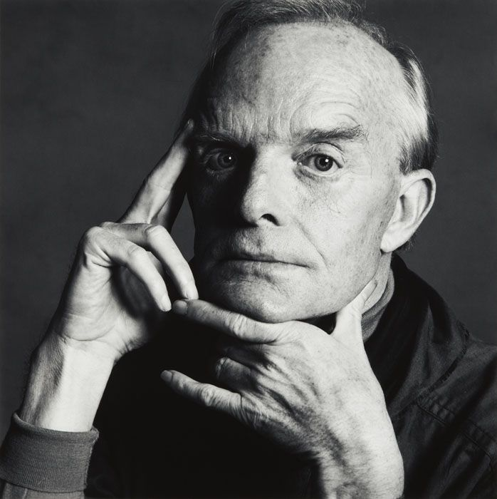 Irving Penn Truman Capote 1979 (3 of 3), New York 1979 gelatin silver print Copyright © by the The Irving Penn Foundation