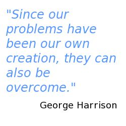 """Great George Harrison quote from the song """"This is love"""""""