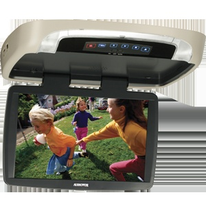 VOD129 - 12.1 inch widescreen LCD backlit monitor / DVD player with built-in dome lights