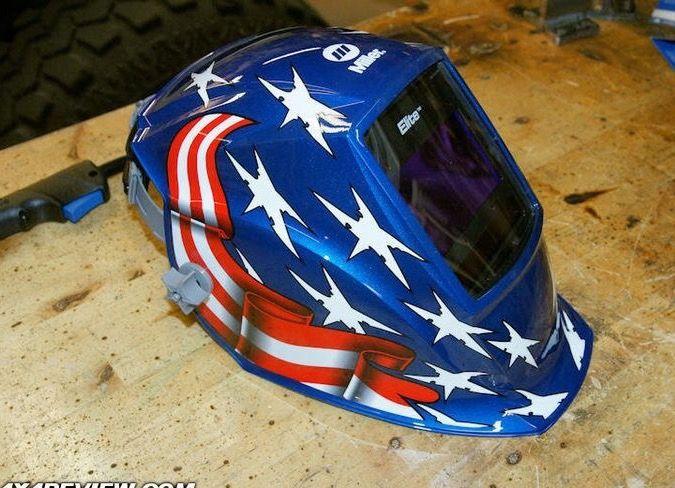 Stars n Stripes Miller welding helmet