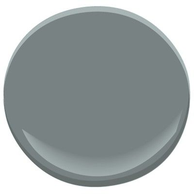 Benjamin Moore Gray Pinstripe 1588 Classic | Laundry room dark stripe on one wall (with Pale Smoke)
