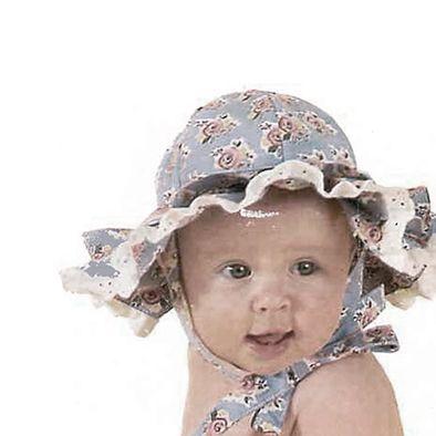 'n Maklike hoed vir kleinding