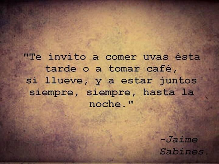Jaime Sabines....Que Hermoso!!!