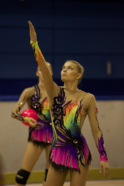 makes me wish I made rhythmic leotards! I guess I could, though ;-)