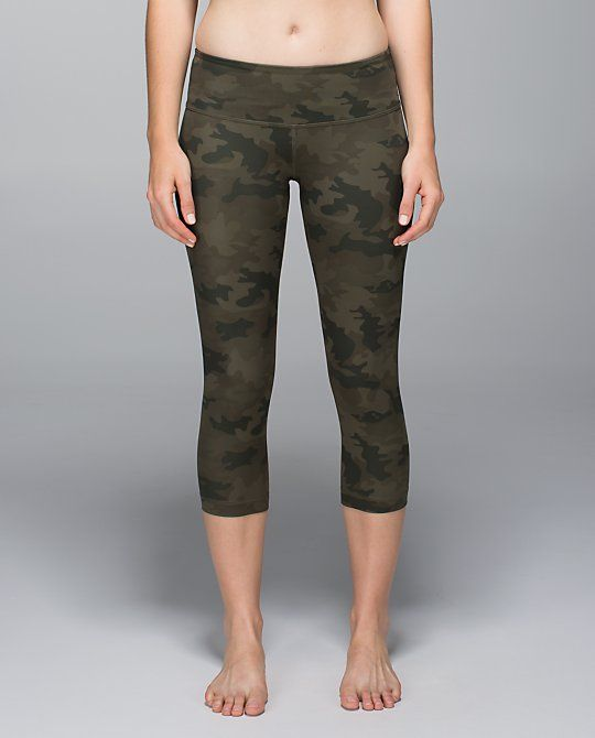 I already have the black Camo's but I really want them in the Fatigue. You can NEVER have enough Wunder Unders.