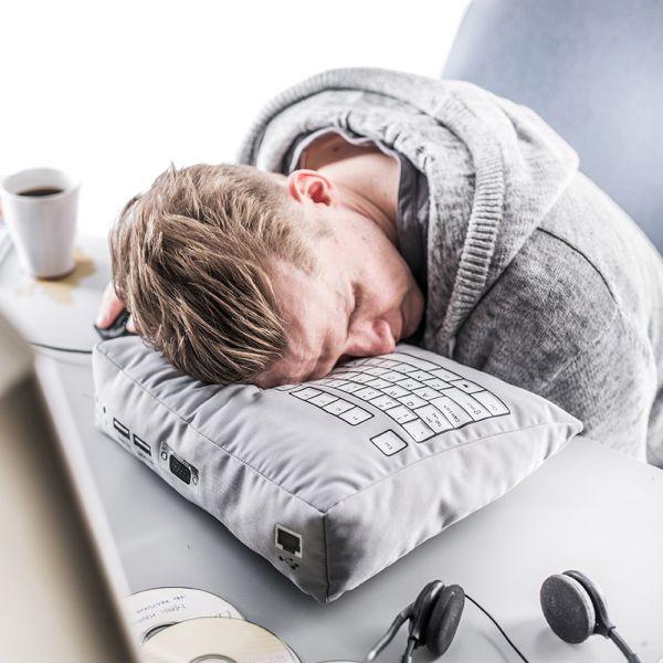 Nerd Nap... Qwerty Keyboard pillow